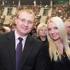 Andrius Šedžius ir Monika Šedžiuvienė