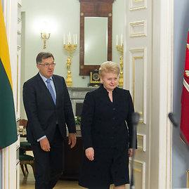BFL/Butauto Barausko nuotr./Algirdas Butkevičius ir Dalia Grybauskaitė