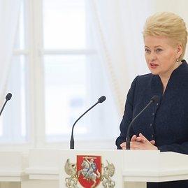 BFL/Butauto Barausko nuotr./Prezidentė Dalia Grybauskaitė