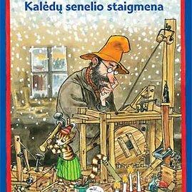 Knygos viršelis/Kalėdų senelio staigmena