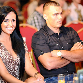 Indrė Burlinskaitė ir Darius Petrikauskas