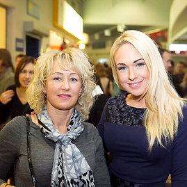 Oksana Pikul-Jasaitienė su mama Laima