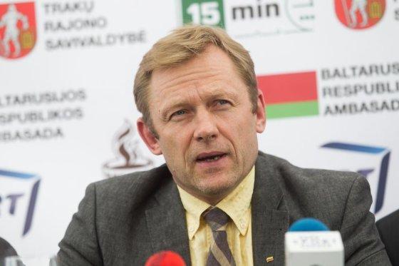 Irmanto Gelūno/15min.lt nuotr./Kultūros ministras Šarūnas Birutis