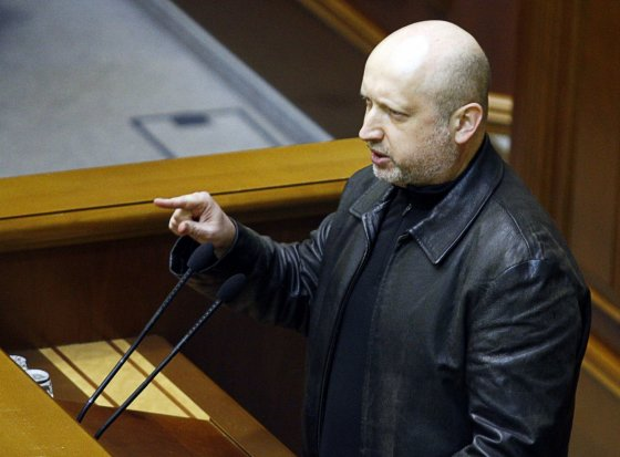 "AFP/""Scanpix"" nuotr./Oleksandras Turčynovas"