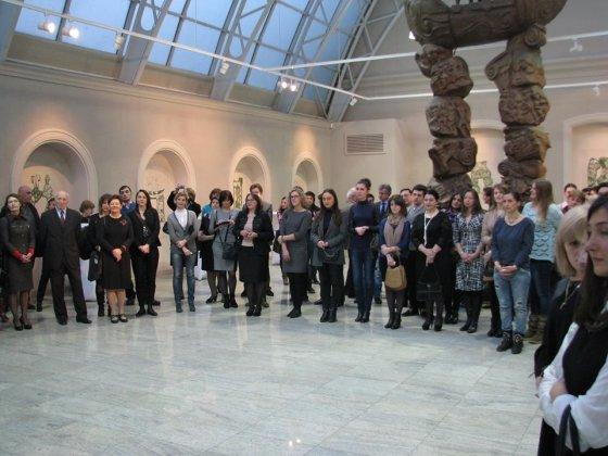 Reginos Jegorovos nuotr./Švietimo mainų paramos fondo komanda kartu su 20 šalies aukštųjų mokyklų atstovais viešėjo Gruzijos sostinėje Tbilisyje