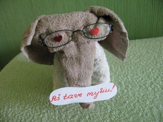 Skaitytojo nuotr./Reginos Račkauskienės dovana vyrui. Šią nuotrauką rytą jis rado kompiuteryje.