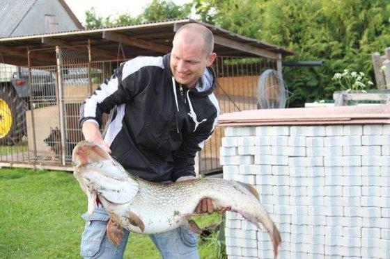 Andriaus S. nuotr./Andriaus S. 15 kg lydeka iš Nemuno