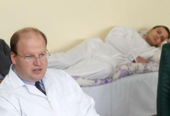 Ligoninės direktorius, gydytojas psichiatras - Martynas Marcinkevičius