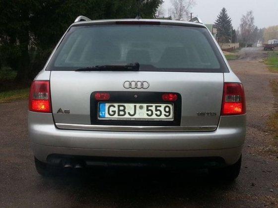"""Asmeninio archyvo nuotr./Pavogtas """"Audi A6"""""""