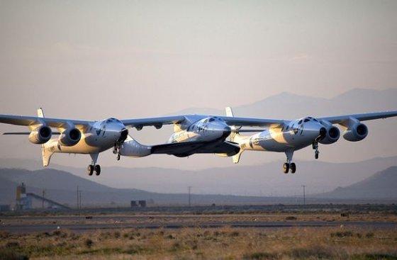"Privatus erdvėlaivis ""Virgin Galactic"" atliko pirmąjį bandomąjį skrydį"