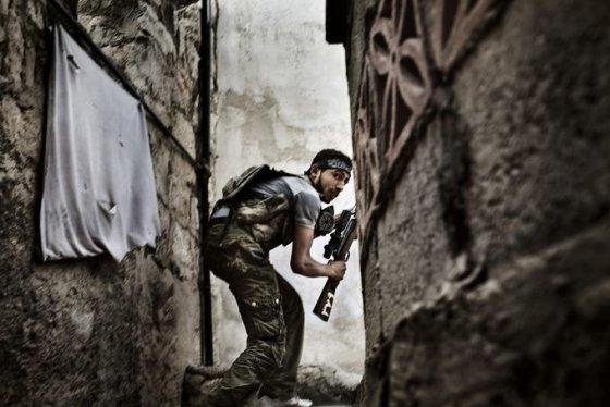 Sirijos laisvosios armijos snaiperis