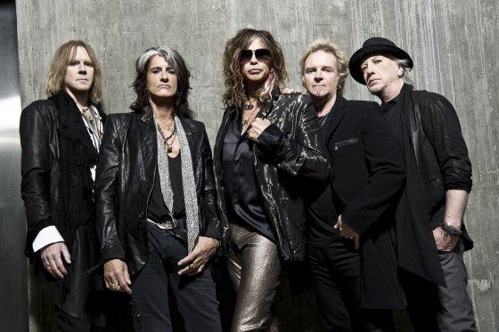"""SEVEN Live"" nuotr./Grupė ""Aerosmith"""