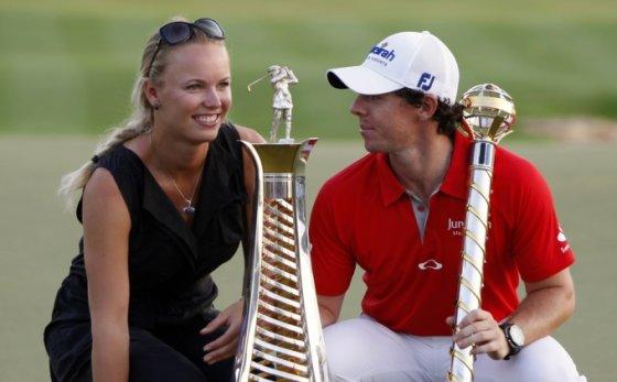 Caroline Wozniacki ir Rory McIlroy
