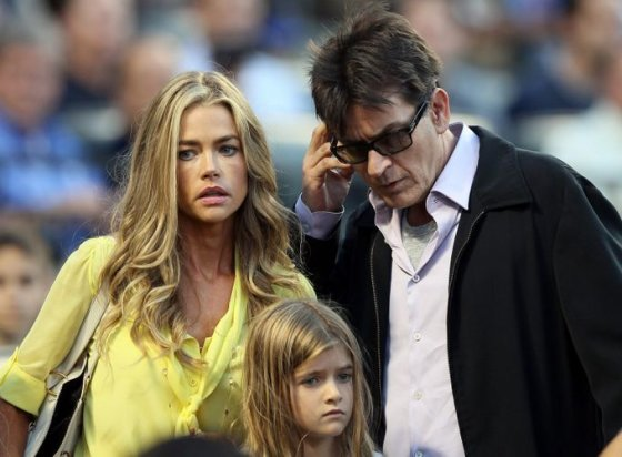 Charlie Sheenas ir Denise Richards