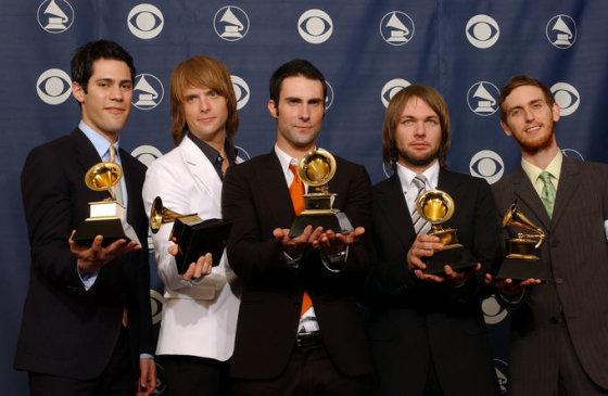 """AOP nuotr./""""Maroon 5"""""""