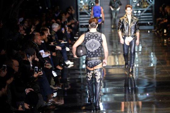 """""""Versace"""" kolekcijos pristatymas"""