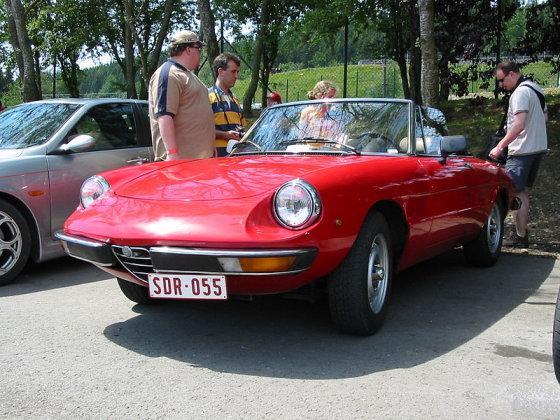 """Wikipedia.org nuotr./Antros kartos """"Alfa Romeo Spider 2000 Veloce"""""""