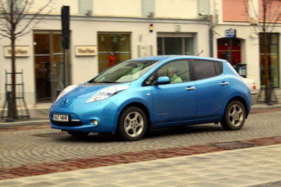"""Mindaugo Plukio/""""Nissan"""" nuotr./GAZAS.LT ekonomiško vairavimo testas"""