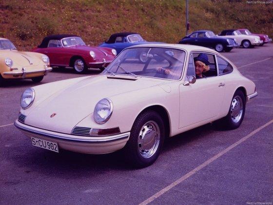 """Gamintojo nuotr./Pirmasis """"Porsche 911 Coupe"""""""