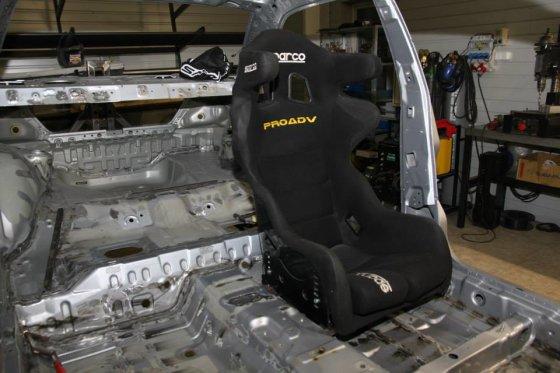 """XTRA Racing"" nuotr./""XTRA Racing"" ruošiamas ""Mitsubishi Lancer Evo"""