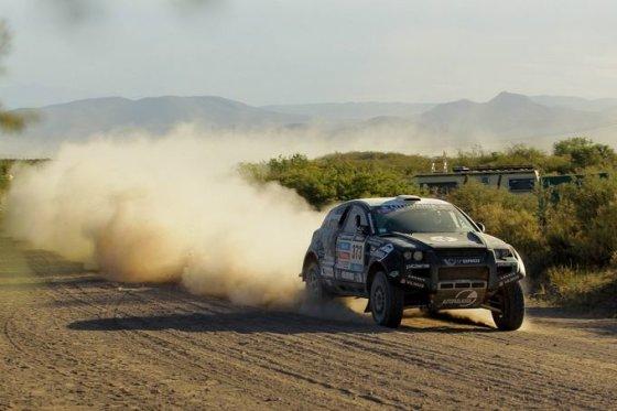 Tomo Tumalovičiaus nuotr./Benediktas Vanagas antrame Dakaro greičio ruože