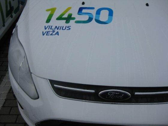 """Inchcape"" nuotr./""Vilnius veža"" taksi automobiliai"