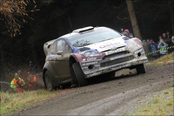 Luko Petrenkos nuotr./WRC ralis Didžiojoje Britanijoje