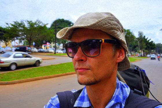 M.Vadišio nuotr./Ant motociklo taksi per Kampalą