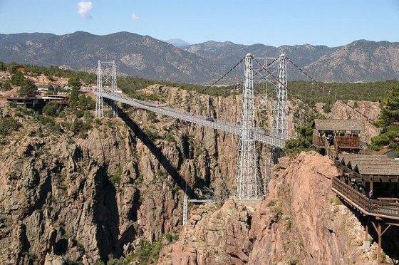 Wikimedia.org nuotr. /Royal Gorge tiltas