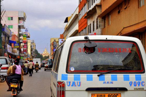M.Vadišio nuotr./Kampalos gatvės
