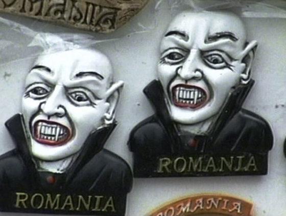 Ritos Pilipavičiūtės nuotr./Populiariausi suvenyrai – su Drakulos atvaizdu