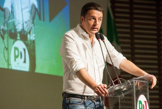 """""""Scanpix"""" nuotr./Matteo Renzi - jauniausias Italijos premjeras"""