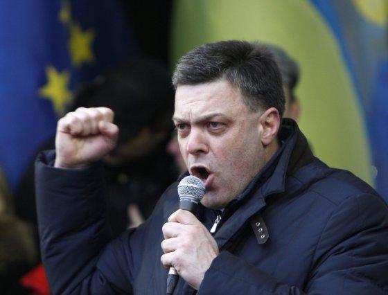 """""""Reuters""""/""""Scanpix"""" nuotr./Olehas Tiahnybokas"""