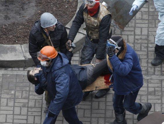 """Reuters""/""Scanpix"" nuotr./Susirėmimai Kijeve"
