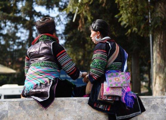 Hmong genties moterys