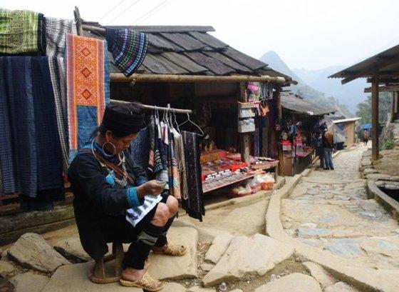 Turistų mėgiamas Hmong genties miestelis