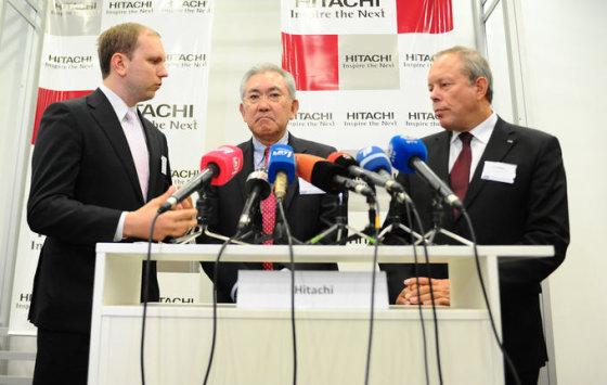 """Luko Balandžio nuotr./""""Hitachi"""" yra pasirengusi investuoti Lietuvoje, tačiau atsakymo iš Lietuvos vis nesulaukia"""
