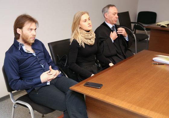 Arūnas Petrauskas, Dalia Samajauskaitė ir Viktors Šruboks