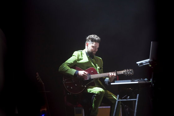 Viganto Ovadnevo/Žmonės.lt nuotr./Leon Somovo ir Jazzu koncerto akimirka