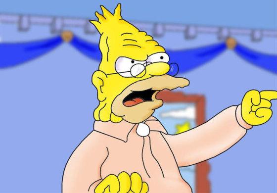 Senelis Eibas Simpsonas