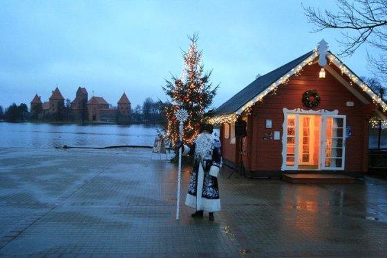 Trakai – Kalėdų Senelių sostinė