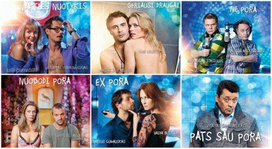 """TV3 nuotr./Filmo """"Valentinas vienas"""" plakatas"""