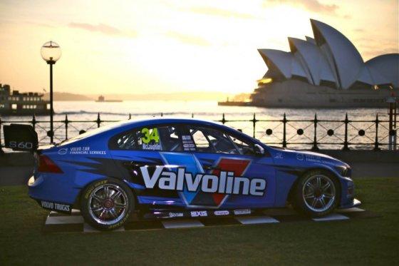 """Volvo Polestar Racing""  nuotr/""Volvo Polestar Racing"" komandos automobilis"