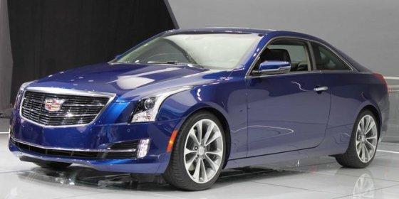 """Cadillac"" nuotr./""Cadillac ATS Coupe"""
