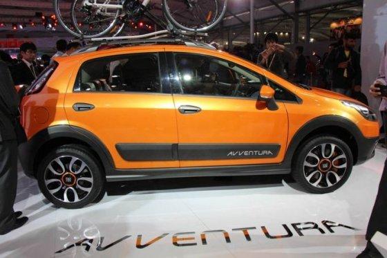 """themotorreport.com nuotr./""""Fiat Avventura"""""""