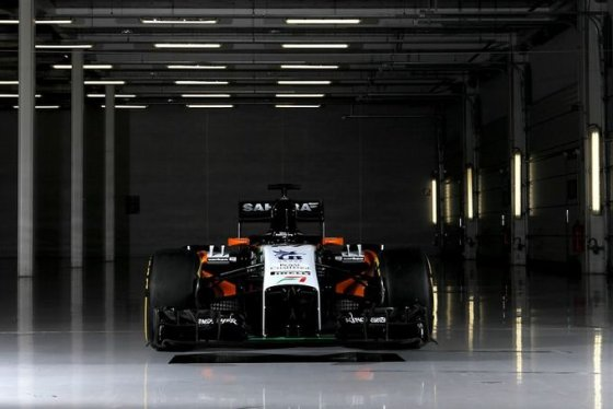 """Force India"" nuotr./""Force India VJM07"""