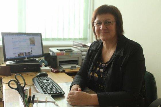 Tomo Markelevičiaus nuotr./J.Tūbelio progimnazijos socialinė pedagogė Genutė Pugžlienė