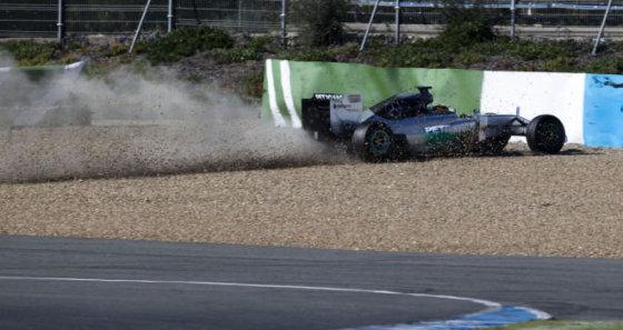gtspirit.com nuotr./Lewiso Hamiltono avarija