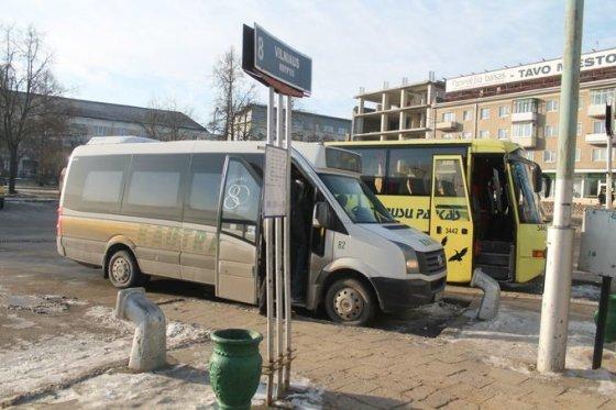 Tomo Markelevičiaus nuotr./Panevėžio autobusų stotyje