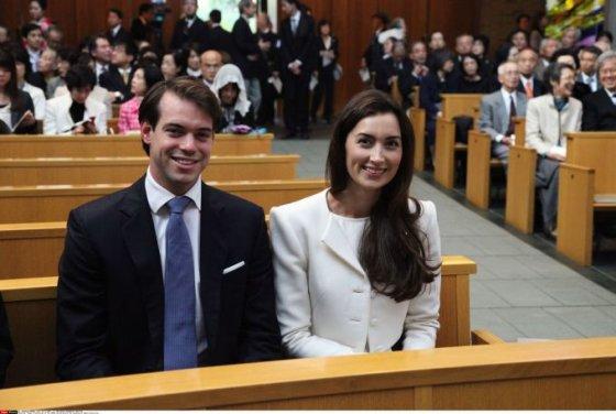 Liuksemburgo princas Felixas ir princesė Claire